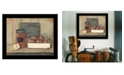"""Trendy Decor 4U Apple Butter by Pam Britton, Ready to hang Framed Print, Black Frame, 17"""" x 14"""""""