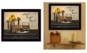 """Trendy Decor 4U Grateful, Thankful, Blessed By SUSAn Boyer, Printed Wall Art, Ready to hang, Black Frame, 18"""" x 14"""""""