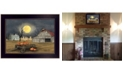 """Trendy Decor 4U Harvest Moon by Billy Jacobs, Ready to hang Framed Print, Black Frame, 18"""" x 14"""""""