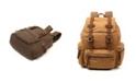 TSD BRAND Silent Trail Canvas Backpack
