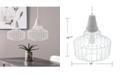 Southern Enterprises Robin Cage Pendant Lamp 2 Piece Set