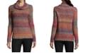 John Paul Richard Cowl-Neck Ombré Sweater