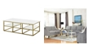 Coaster Home Furnishings Simsbury Rectangular Coffee Table with Shelves