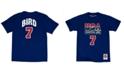Mitchell & Ness Men's Larry Bird Team USA Player T-Shirt