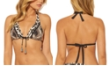 Bleu by Rod Beattie Animal-Print Triangle Bikini Top