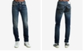 True Religion Men's Rocco Skinny Flap Super T Jeans