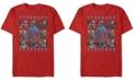Marvel Men's Avengers Endgame Stronger Together Boxes, Short Sleeve T-shirt
