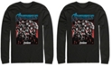 Marvel Men's Avengers Endgame Grayscale Group Poster, Long Sleeve T-shirt
