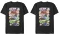 Marvel Men's Avengers Endgame Hero Icons, Short Sleeve T-shirt