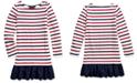 Polo Ralph Lauren Little Girls Striped Cotton Jersey Dress