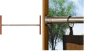 Versailles Home Fashions Green Room Stainless Steel Duo Tension Rod