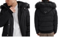 NOIZE Men's Nixon Bomber with Faux Plush Lined Collar & Hood