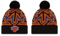 New Era New York Knicks Big Flake Pom Knit Hat