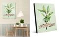 "Creative Gallery Watercolor Sage on Green 16"" x 20"" Acrylic Wall Art Print"