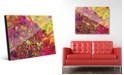 Creative Gallery Espansione in Pink Abstract Acrylic Wall Art Print Collection
