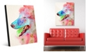 Creative Gallery Scout in Red Dog Abstract Acrylic Wall Art Print Collection