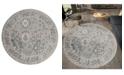"Asbury Looms Century Linx 4500 10967 88R Blue 7'10"" Round Rug"