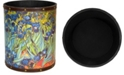 Red Lantern Van Gogh Irises Waste Basket