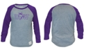 Retro Brand Women's Washington Huskies Cropped Crew Sweatshirt