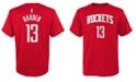 Nike Big Boys James Harden Houston Rockets Name And Number T-Shirt