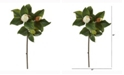 Nearly Natural 30in. Magnolia Artificial Flower Set of 4