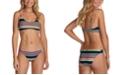 Raisins Juniors' Printed Bikini Top & Brief Bottoms