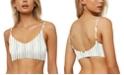 O'Neill Juniors' Bridget Stripe Mid-Bralette Bikini Top