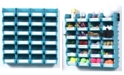 Triton Products Locbin 26 Piece Wall Storage Unit with Interlocking Bins, 24 Count, Wall Mount Rails with Hardware, 2 Pack
