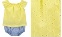 Carter's Baby Girls Layered-Look Cotton Sunsuit