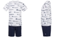 Champion Little Boys 2-Pc. Script Logo T-Shirt & Logo Shorts Set