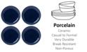 Lenox Profile Accent Plate Set/4 Navy