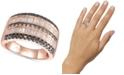 Le Vian Exotics® Diamond Multi-Row Statement Ring (1-3/8 ct. t.w.) in 14k Rose Gold
