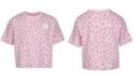 Converse Big Girls Cotton Leopard T-Shirt