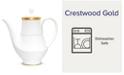 Noritake Crestwood Gold Coffee Server
