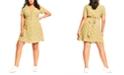 City Chic Trendy Plus Size Floral-Print Fit & Flare Dress