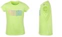 Champion Big Girls Ombré Stacked Logo Script T-Shirt