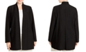 Eileen Fisher Plus Size Stand-Collar Jacket