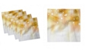 "Ambesonne Pearls Set of 4 Napkins, 12"" x 12"""