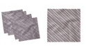 "Ambesonne Stripes Set of 4 Napkins, 12"" x 12"""