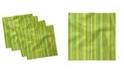 "Ambesonne Geometric Lines Set of 4 Napkins, 18"" x 18"""