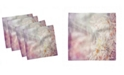 "Ambesonne Winter Set of 4 Napkins, 18"" x 18"""