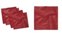 """Ambesonne Abstract Grid Set of 4 Napkins, 18"""" x 18"""""""