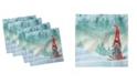 "Ambesonne Gnome Set of 4 Napkins, 18"" x 18"""
