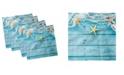 "Ambesonne Starfish Set of 4 Napkins, 18"" x 18"""