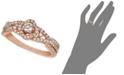 Le Vian Diamond Diamond Ring (5/8 ct. t.w.) in 14k Rose Gold