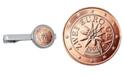American Coin Treasures Austrian 2 Euro Bar Coin Tie Clip