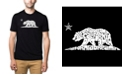 LA Pop Art Men's Premium Word Art T-shirt - California Dreamin