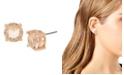 Jessica Simpson CZ Stone Stud Earrings