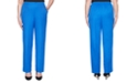 Alfred Dunner Petite Look On The Bright Side Pull-On Pants