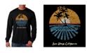 LA Pop Art Men's Word Art - Cities in San Diego Long Sleeve T-Shirt